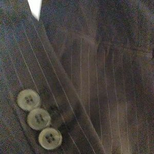 The Limited Pants - Black pin striped suit